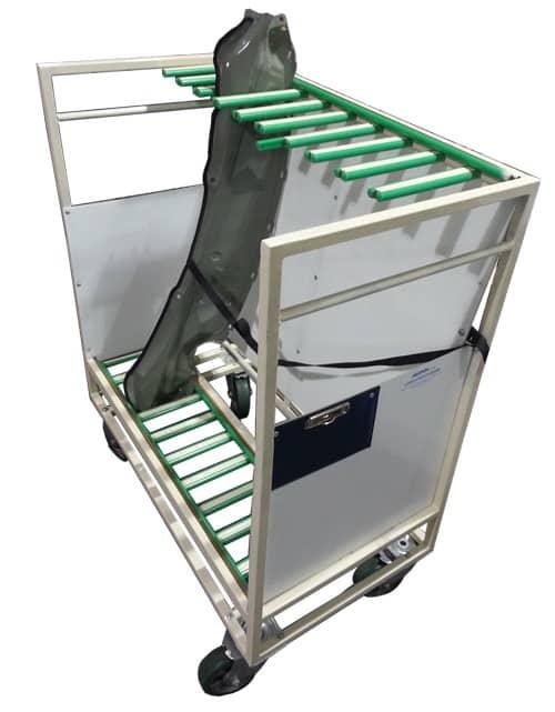 carucioare metalice/transport marfa/transpalet manual pentru distributie