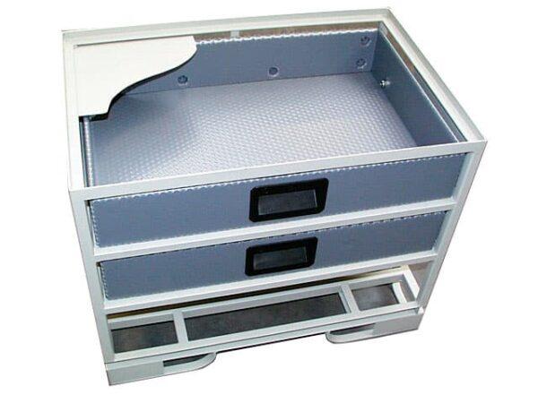 ambalaje/cutii/separatoare din duraflex/plastic alveolarr