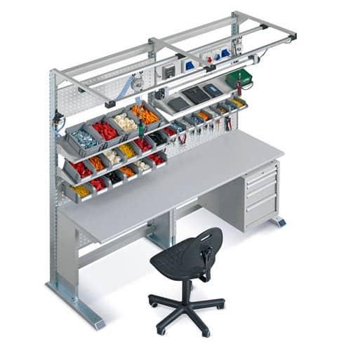 Suport/Stație de lucru si accesorii din profile de aluminiu