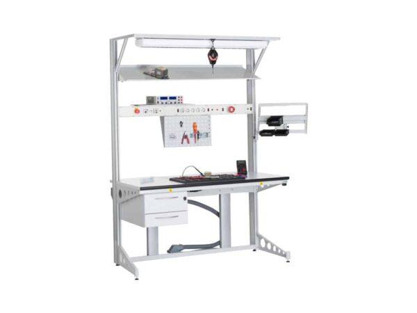 Suport/Stații de lucru și accesorii din profile de aluminiu