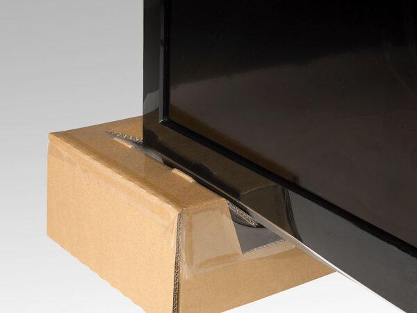 Ambalaj protector cu folie de suspensie si retentie pentru TFT sau LCD-detaliu