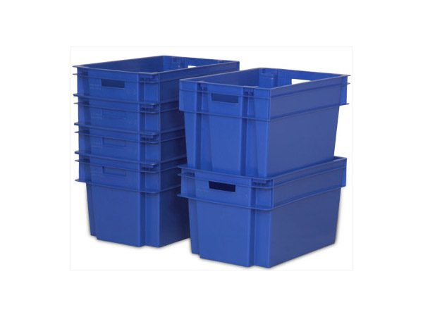 container/cutie/naveta dublu-stivuibila din plastic SN5331-1201