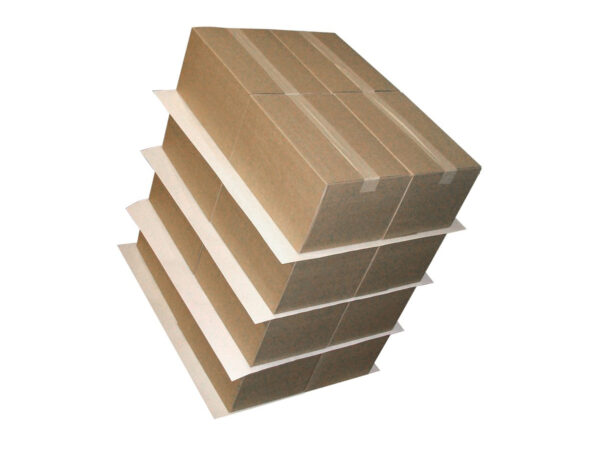 Non-slip sheets from paper and compact or corrugated cardboard