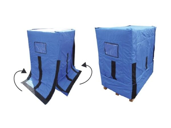 Pallet and trolley thermal covers