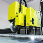 CNC cutting of alveolar plastic