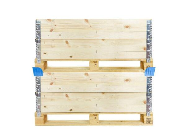 Coltare de stivuire pentru containere pliabile din lemn detaliu
