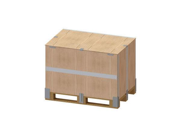 Container pliabil din lemn