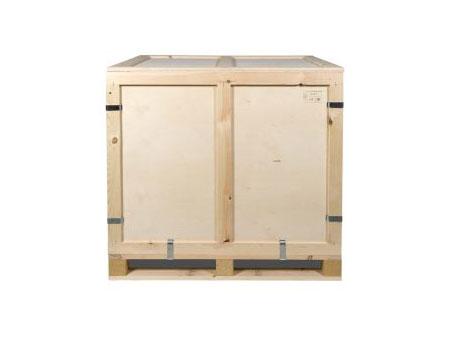 Container pliabil din lemn cu pereti inchisi