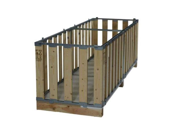 Container pliabil din lemn dimensiuni atipice