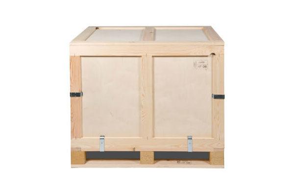 Container pliabil din lemn pentru produse grele sau voluminoase