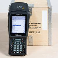 Identificare rapida pentru inventar pentru containere din lemn