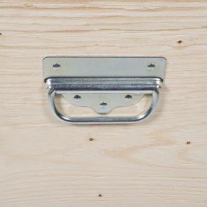 Manere metalice pentru containere din lemn