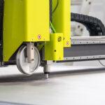 Productie CNC taiere material netesut