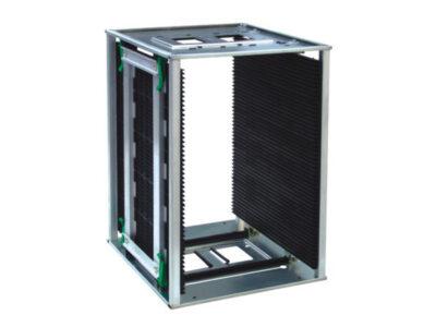 Electronic print board magazine racks