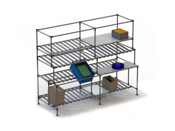 Kanban racking storage systems