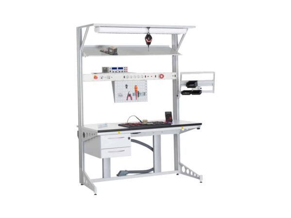 Aluminum profiles workstations for accessories