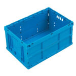 Foldable plastic box or bin FSC6430-1609