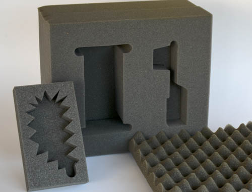 Internal dunnage with cutouts on the products contour