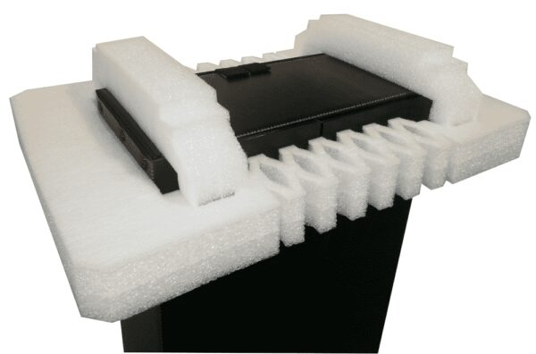 Protection from EPE foam for electronic products packaging and transport