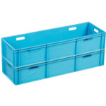 Stackable plastic box or container ST1204-1125