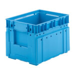 Stackable plastic container or box VDA C-KLT4328