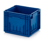 Stackable plastic container or box rl klt 4280