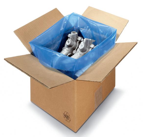 VCI polyethylene bag