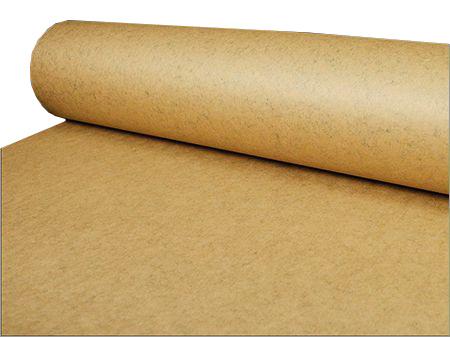 Water repellent packaging from bitumen paper