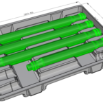 Design termoformated trays