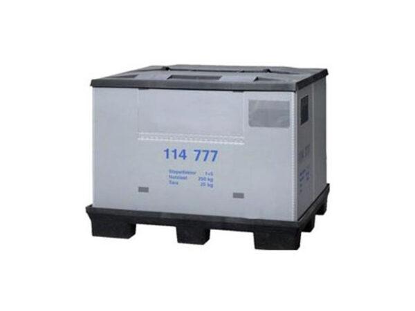 Foldable plastic pallet box/container FLCL1208-2812 (114 777)