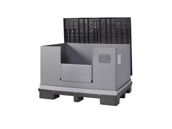 Container/lada/naveta/cutie pliabila mare cu capac FLCL1612-2811