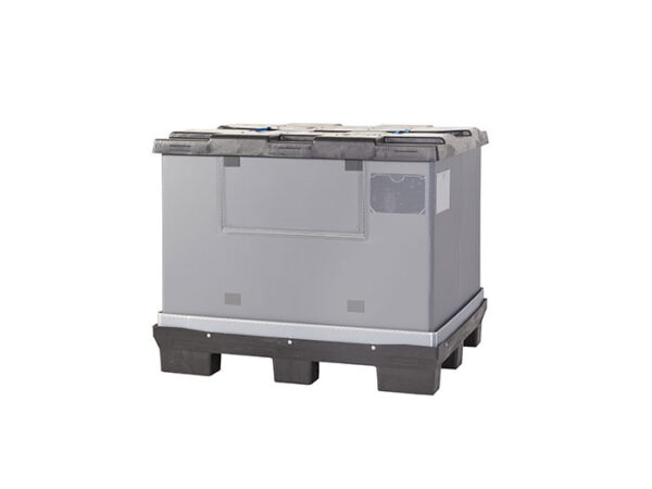 Foldable large container/box with lid FLCL1210-2808