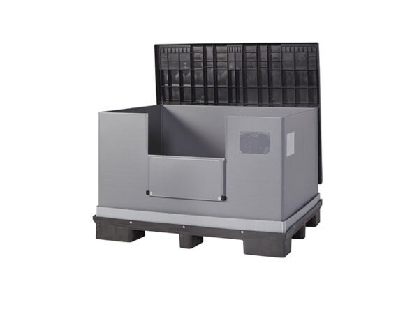 Foldable large container with lid FLCL1612-2811