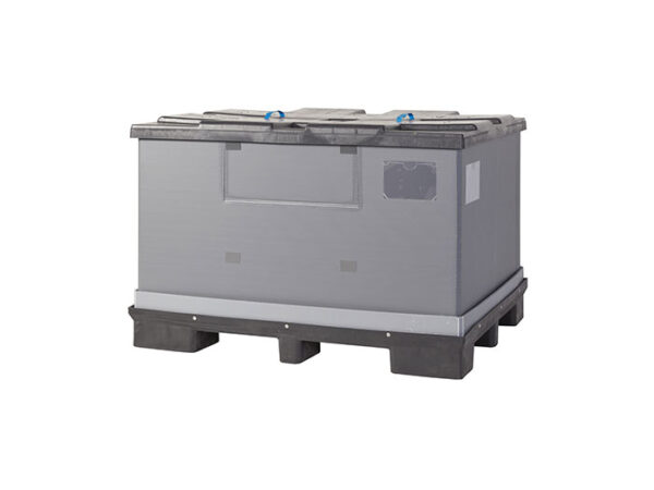 Foldable large container/box with lid FLCL1612-2811