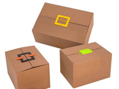 Protective packaging Cardboard locks