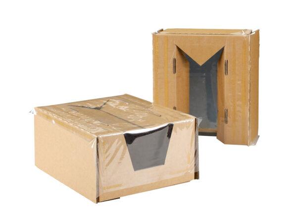 Ambalaj cu folie de retentie sau suspensie pentru monitoare LCD sau TFT LMFL2812180
