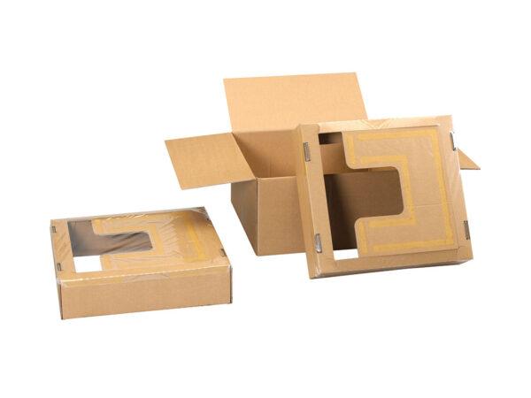 Ambalaj cu folie de retentie sau suspensie pentru monitoare LCD sau TFT LMFL4646150