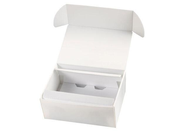 Anti-dust cellular polypropylene duo retention packaging LMFL393211CL