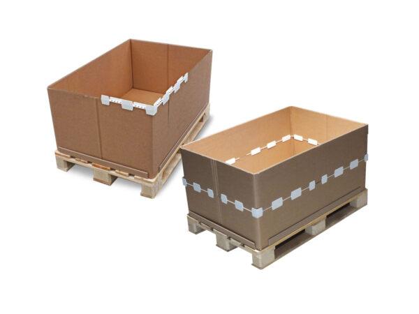 Modular frames for stacking