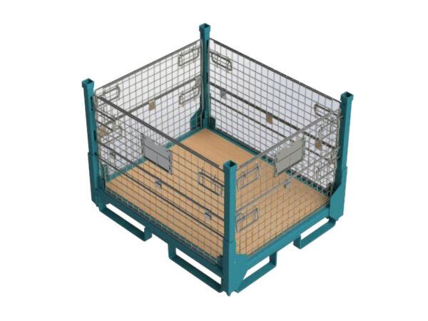 Container metalic 00124