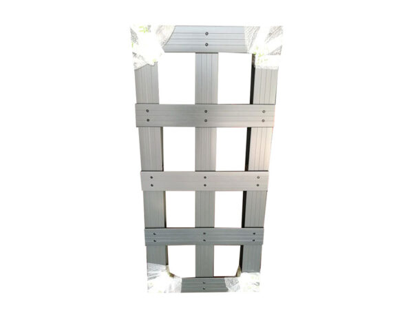 Custom-size plastic pallets