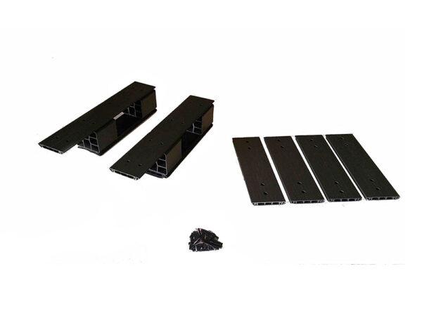 Custom-size plastic pallets 600x400 mm