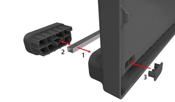 Container pliabil din plastic FLCL1208-0904 114 777 - asamblare