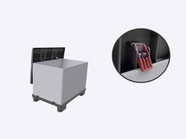 Container pliabil din plastic FLCL1208-0904 114 777