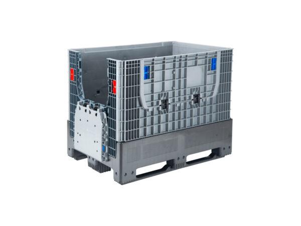 Containere pliabile/boxpaleti pliabili cu 2 usi de acces