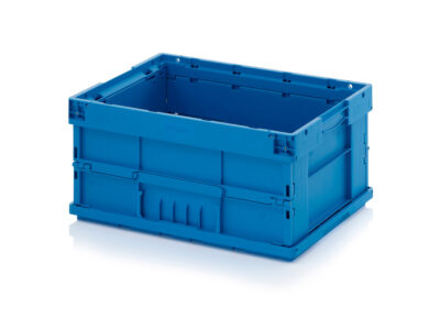 Foldable plastic containers VDA F-KLT