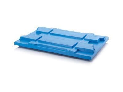 Plastic pallet lids