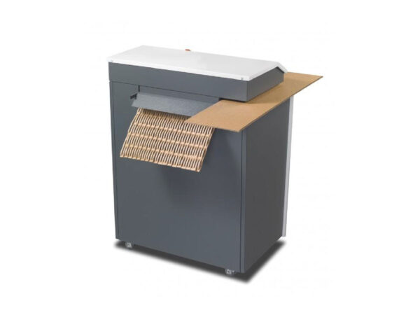 Large carton cushion padding machine
