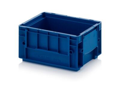 Stackable plastic container VDA RL-KLT