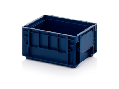 Stackable plastic containers VDA R-KLT